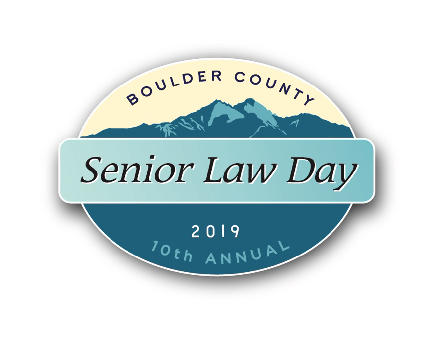 Boulder County Senior Law Day logo